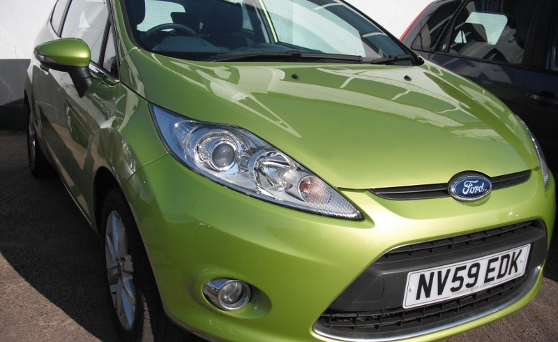 Ford Courtesy Car Whilst Service
